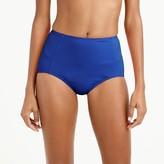 J.Crew High-waist French bikini brief in Italian matte