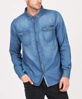 Wrangler Apache Denim Shirt Blue