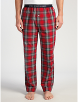 Polo Ralph Lauren Baird Check Lounge Pants, Red