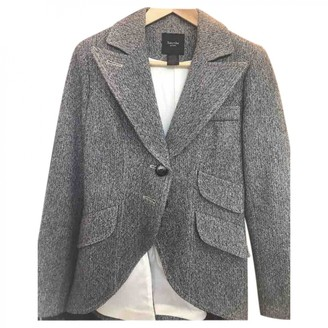 Smythe Grey Wool Jacket for Women