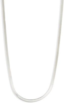 Argentovivo Herringbone Chain Necklace