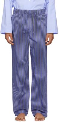 Tekla Blue Striped Pyjama Pants