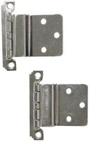 Rejuvenation Set of NOS Chrome Plated Deco Cabinet Hinges