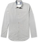 Paul Smith Paisley-print Cotton-poplin Shirt - Gray