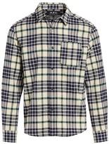 A.P.C. John Plaid Overshirt