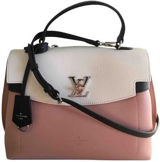 Louis Vuitton Lockme Pink Leather Handbags