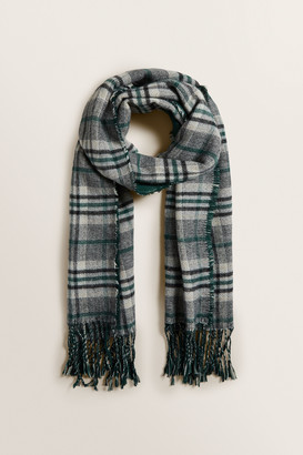 Seed Heritage Reversible Check Scarf