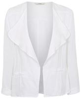 George Linen-Blend Blazer Jacket