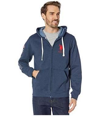 U.S. Polo Assn. Men's Long Sleeve Zip Front Hoody