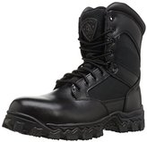 """Rocky Men's Alpha Force 8"""" Side Zip Steel Toe Work Boot"""
