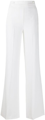 Pinko High-Rise Flared Trousers