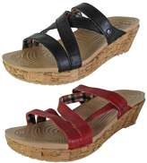 Crocs Women's A-Leigh Mini Leather Wedge