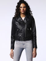 Diesel DieselTM Leather jackets 0PAOM - Black - S