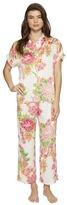 N by Natori - Short Sleeve PJ Set Women's Pajama Sets