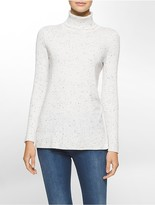 Calvin Klein Flecked Turtleneck Sweater