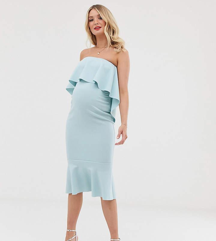 bbbee55596c30 Maternity Dress Bandeau - ShopStyle