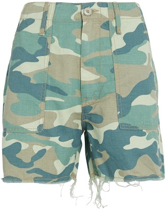 Mother Shaker Chop Camouflage Shorts