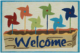 Couristan Welcome Pinwheels Hooked Rectangle Rugs