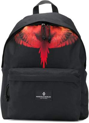 Marcelo Burlon County of Milan Kids Wings print backpack