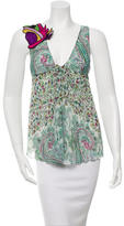 Etro Sleeveless Printed Top