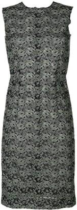 Comme Des Garçons Pre Owned Sleeveless Lace Dress