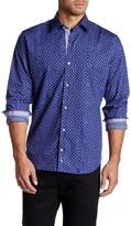 Tailorbyrd Salton Sea Long Sleeve Printed Shirt