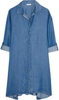 Splendid Belted denim shirt dress