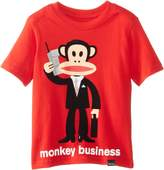 Paul Frank Little Boys' Toddler Monkey Business Tee