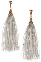 Expression Sequined Tassel Drop Earrings
