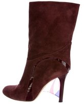 Emilio Pucci Suede Ankle Boots