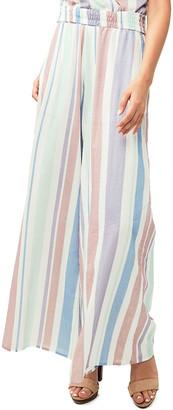 N. Astars Freida Striped Wide-Leg Pants