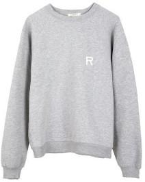 Rag Doll Ragdoll - Oversize Sweatshirt Heather Grey - small