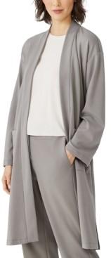 Eileen Fisher Knit Long Jacket