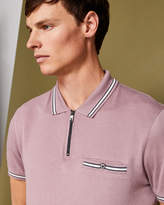 Ted Baker Zipped polo shirt