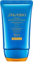 Shiseido Ultimate Sun Protection Cream Spf 50+ WetForce, 2 oz