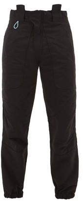 Boramy Viguier Slim-leg Cotton-blend Trousers - Black