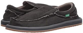 Sanuk Chiba Waffles (Black) Men's Shoes