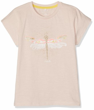 Name It Girl's Nmfhaza Ss Top Box T-Shirt