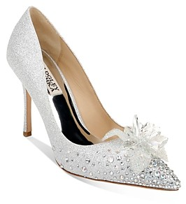 Badgley Mischka Women's Halo Embellished Pumps