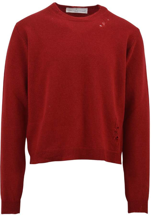 Golden Goose Red Wool Sweater