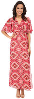 KUT from the Kloth Kimono Maxi Dress w/ Surplice Bodice