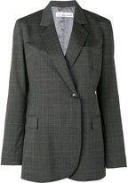 Golden Goose Deluxe Brand check double breasted blazer