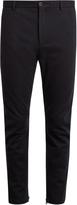 Lanvin Slim-leg flannel trousers