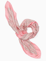 Kate Spade Trellis silk square scarf
