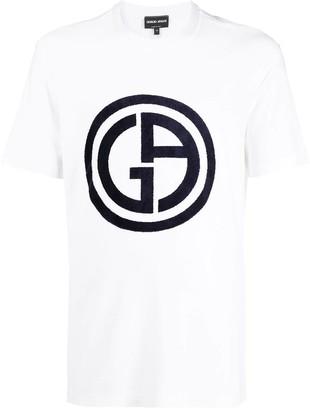 Giorgio Armani Central Logo T-shirt