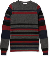 J.w.anderson - Striped Merino Wool Sweater