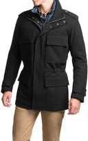 Andrew Marc Liberty Melton Wool Coat - Insulated (For Men)