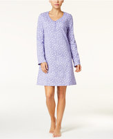Charter Club Printed Knit Sleepshirt, Only at Macy's