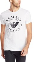 Armani Jeans Men's Slim Fit Logo T-Shirt
