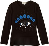Kenzo Alizea T-Shirt (Toddler/Kid) - Black - 3 Years